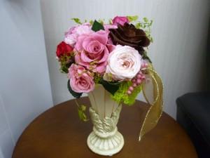 中島さんからの花