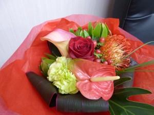 渡邊美穂さんからの花